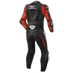 Motorcycle suit one piece Rev it Hyperspeed black red, Motorcycle Suit
