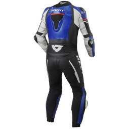 Motorcycle suit one piece Rev it Hyperspeed blue black ,Motorcycle Leather Suit