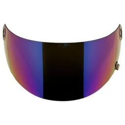 Visier Biltwell Gringo S GEN-2 Rainbow Mirror ECE Shield, Visiere und Zubehör