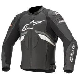 Giacca moto pelle Alpinestars GP Plus R V3 nero bianco, Giubbotti e Giacche Pelle Moto