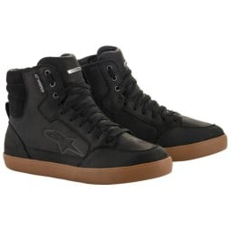 Alpinestars motorcycle shoes J-6 WP black gum, Motorcycle Shoes Urban