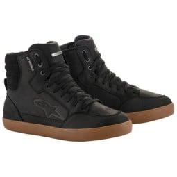 Zapatos moto Alpinestars J-6 WP negro gum