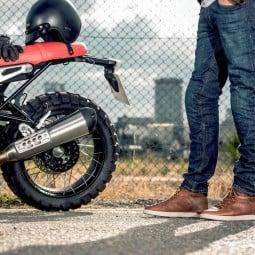 Alpinestars Motorradschuhe J-Cult Drystar braun ,Motorradschuhe Urban