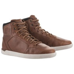Alpinestars shoes J-Cult Drystar brown, Motorcycle Shoes Urban