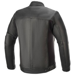 Motorcycle leather jacket Alpinestars Topanga black, Motorcycle leather jackets