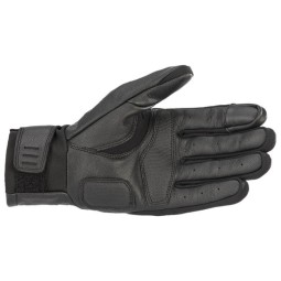 Motorcycle gloves Alpinestars Gareth black ,Motorcycle Leather Gloves