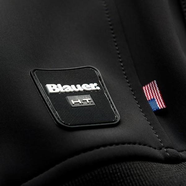 Motorrad-Stoffjacke BLAUER HT Easy Man 1.0 Schwarz Asphalt