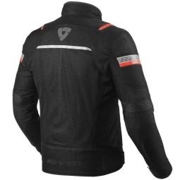 Motorradjacke Rev it Tornado 3 schwarz ,Motorrad Textiljacken