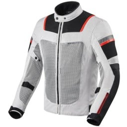 Motorcycle jacket Tornado 3 silver, Motorcycle Textile Jackets