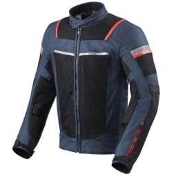 Giacca Revit moto Tornado 3 blu, Giubbotti e Giacche Tessuto Moto