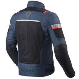 Motorradjacke Rev it Tornado 3 blau