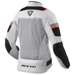 Motorcycle jacket Tornado 3 woman silver black, Motorcycle Textile Jackets