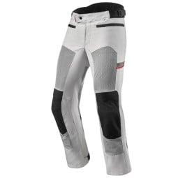 Pantalón moto Revit Tornado 3 plata, Pantalones moto