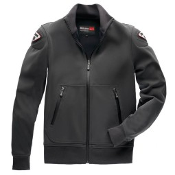Motorcycle Fabric Jacket BLAUER HT Easy Man 1.0 Anthracite, Motorcycle jackets