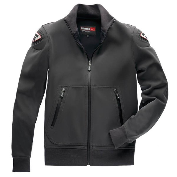 Motorcycle Fabric Jacket BLAUER HT Easy Man 1.0 Anthracite ,Motorcycle Textile Jackets