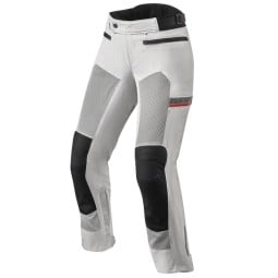 Revit woman motorcycle pants Tornado 3 silver ,Motorcycle Trousers