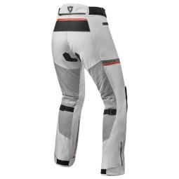 Pantaloni moto donna Revit Tornado 3 argento, Pantaloni Moto