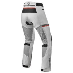Revit woman motorcycle pants Tornado 3 silver, Motorcycle trousers