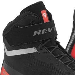 Motorradschuhe Revit Mission schwarz rot, Motorrad Racing Stiefel