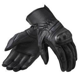 Revit motorcycle gloves Chevron 3 black ,Motorcycle Leather Gloves