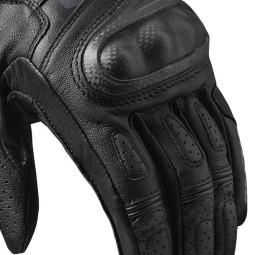 Revit motorradhandschuhe Chevron 3 schwarz, Sommer Handschuhe