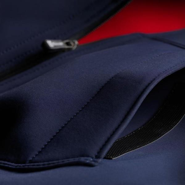 Blouson Moto Tissu BLAUER HT Easy Man 1.0 Bleu foncé