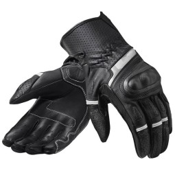Revit motorcycle gloves Chevron 3 black white ,Motorcycle Leather Gloves