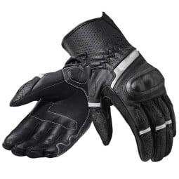 Revit motorradhandschuhe Chevron 3 schwarz weiß, Sommer Handschuhe