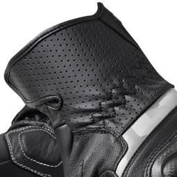 Revit motorcycle gloves Chevron 3 black white ,Motorcycle Leather Gloves