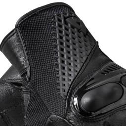 Revit motorradhandschuhe Echo schwarz ,Motorrad Lederhandschuhe
