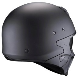 Motorcycle helmet Scorpion Covert X matte black ,Jet Helmets