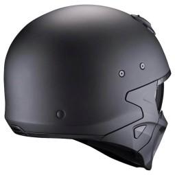 Motorrad helm Scorpion Covert X matte black