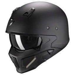 Casco Scorpion Covert X nero opaco, Caschi Jet