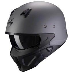 Casco Scorpion Covert X grigio opaco, Caschi Jet