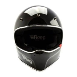 Motorrad helm Roeg Moto Peruna black gloss, Vintage-Helme