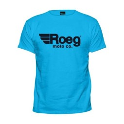 T-shirt Roeg Moto OG TEE light blue ,T-Shirts