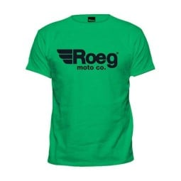T-shirt Roeg Moto OG TEE verde, T-Shirts