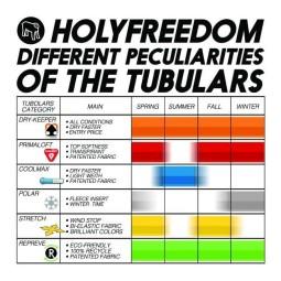 Bandana tubolare moto Holy Freedom Poker Dry-keeper, Accessori