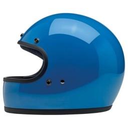 Motorrad helm Biltwell Gringo Tahoe Blue, Vintage-Helme