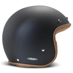 Casco DMD jet Pillow mate negro marron, Cascos Jet