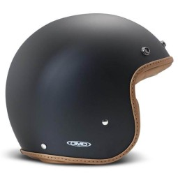 Casco DMD jet Pillow nero opaco marrone, Caschi Jet