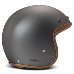 Casco DMD jet Pillow mate gris marron, Cascos Jet