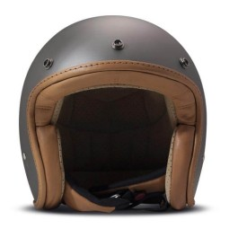 DMD helmet Pillow jet matte grey brown, Jet Helmets