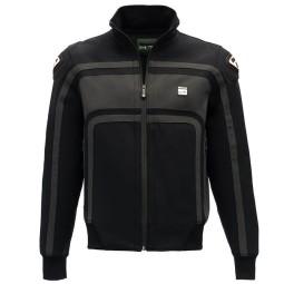 Motorrad-Stoffjacke BLAUER HT Easy Rider Black ,Motorrad Textiljacken
