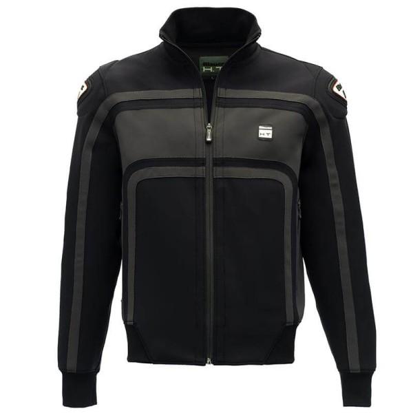Motorrad-Stoffjacke BLAUER HT Easy Rider Black