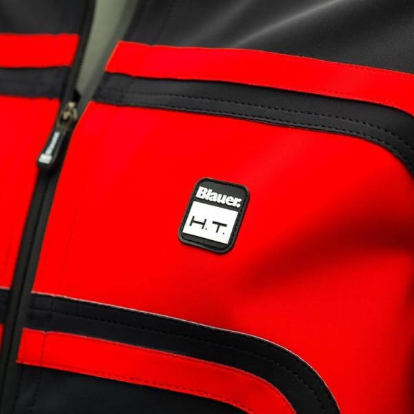 Blouson Moto Tissu BLAUER HT Easy Rider Red