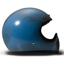 DMD helmet Seventy Five Arrow Blue ,Vintage Helmets
