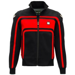 Motorcycle Fabric Jacket BLAUER HT Easy Rider Red