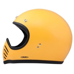 Casco moto DMD Seventy Five Yellow, Cascos Vintage