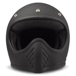 DMD helmet Seventy Five Matte Black ,Vintage Helmets